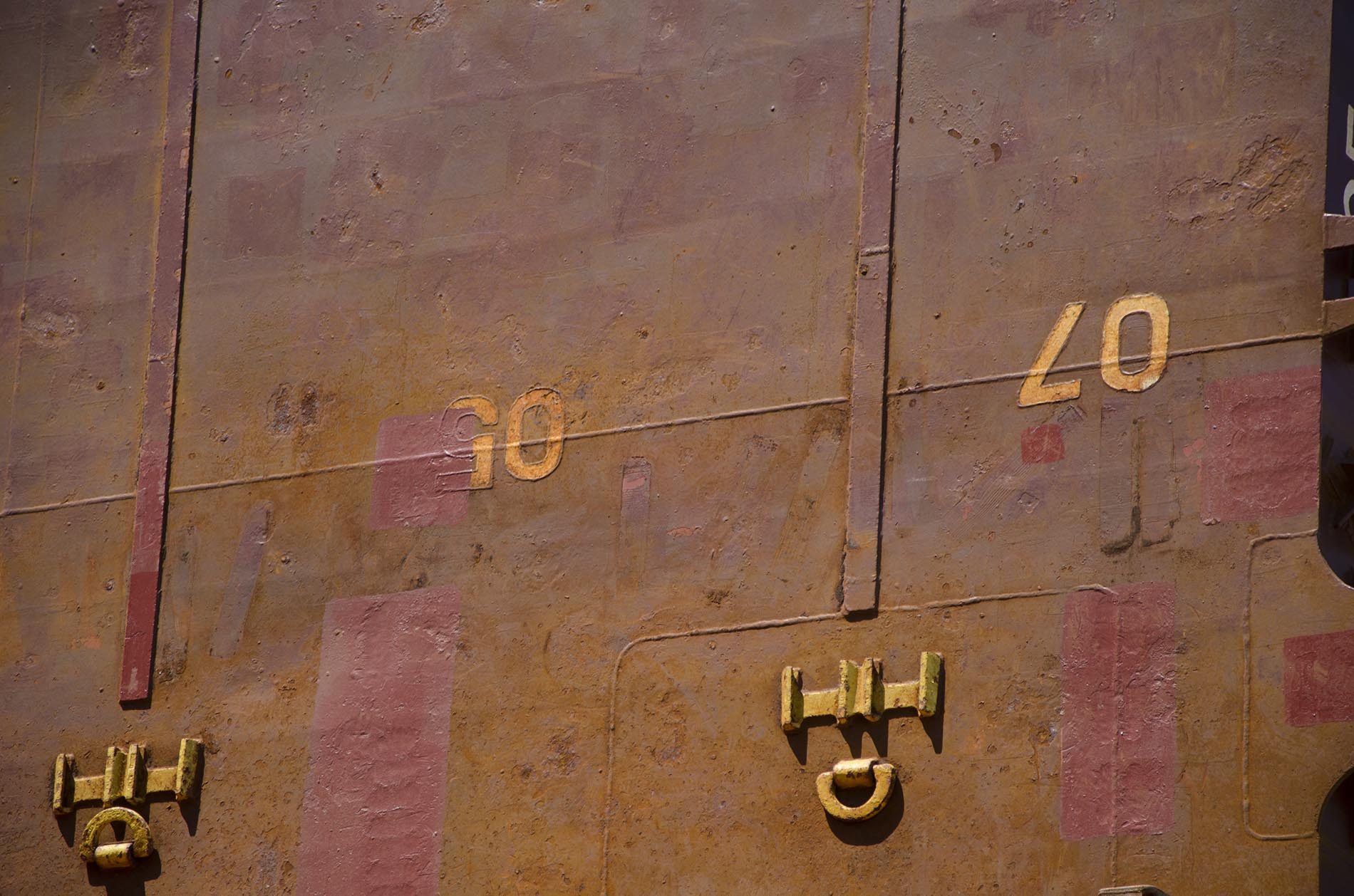 Side of ship