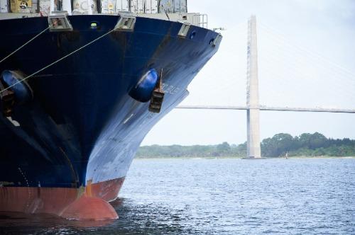 Hull of ship