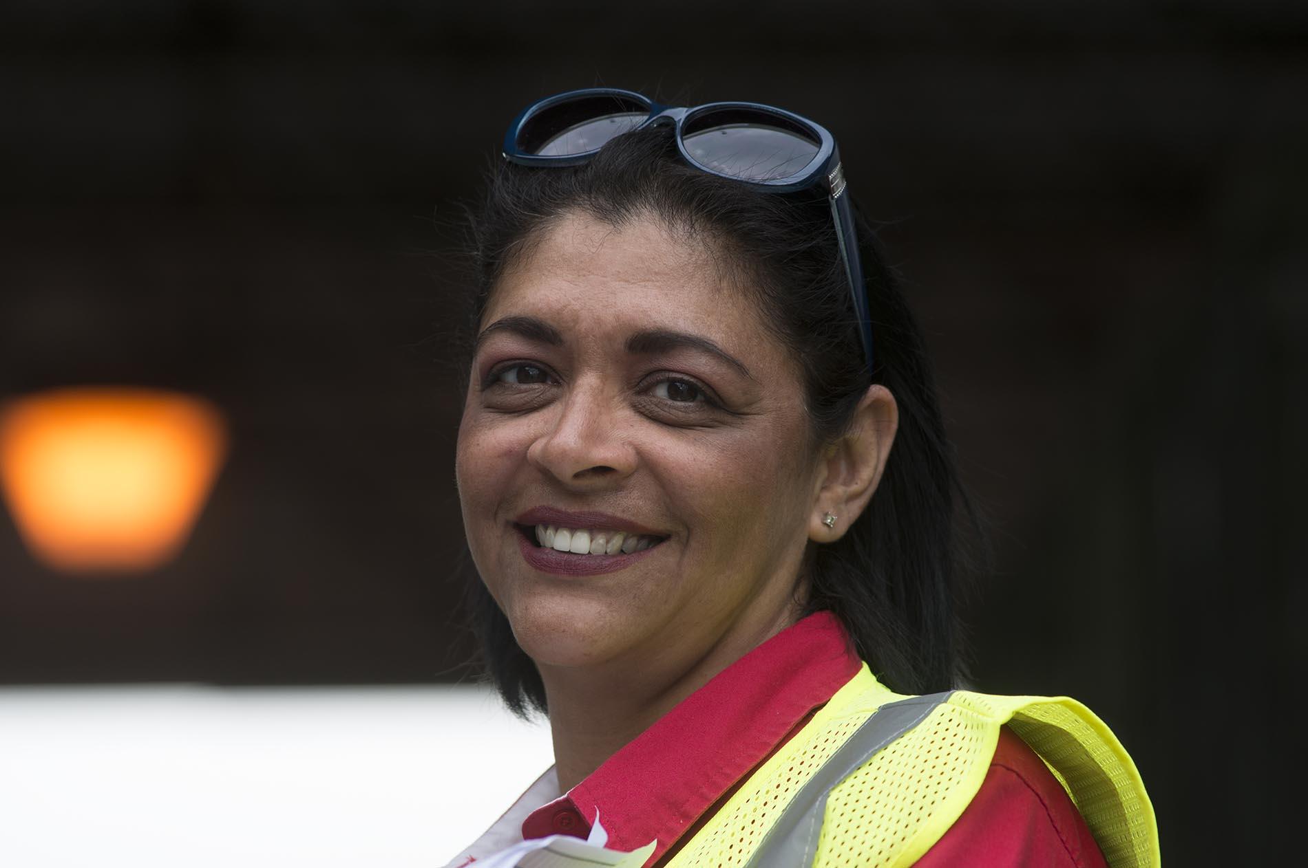 Female safety vest
