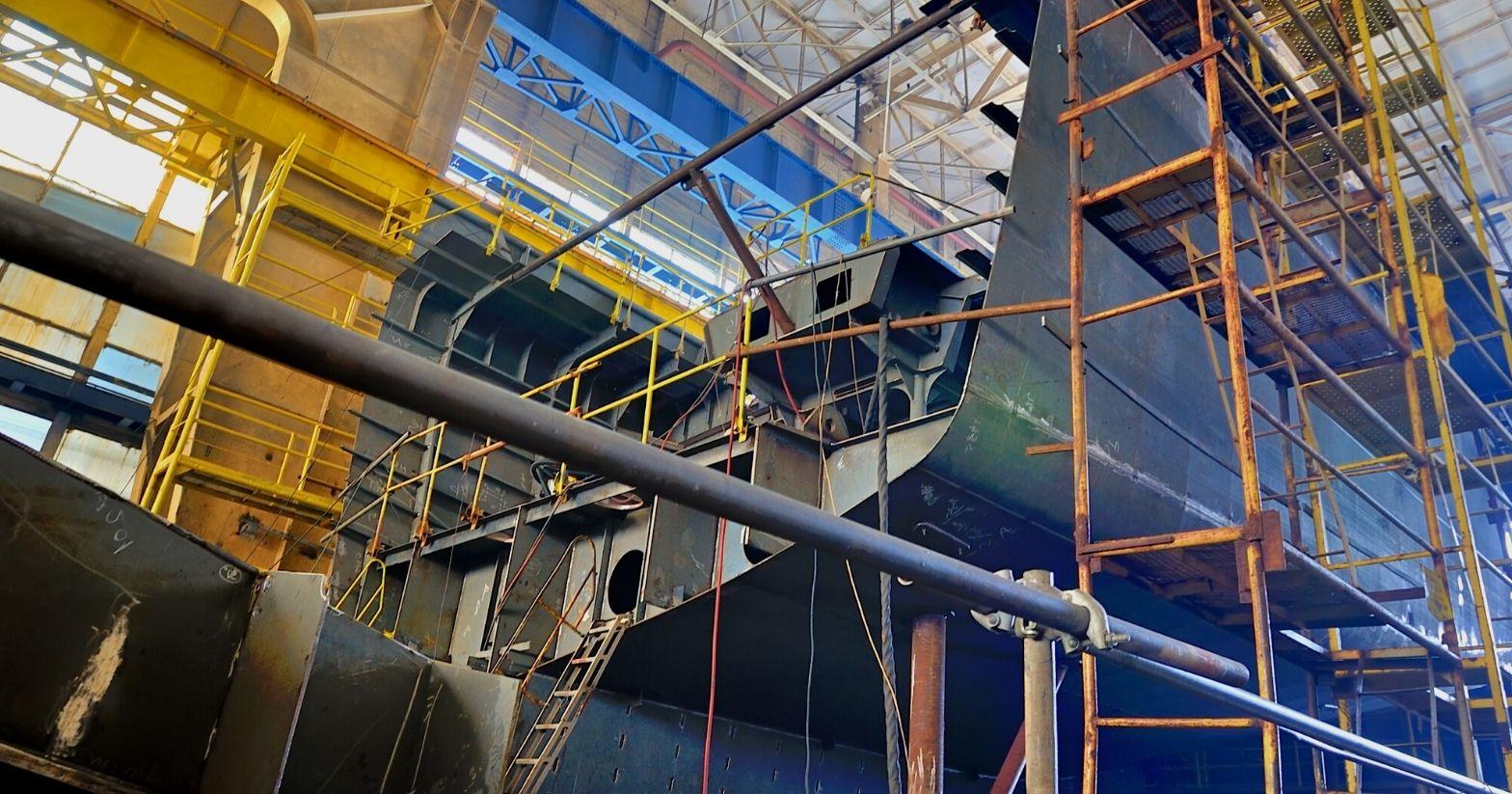 shipyard scaffolding